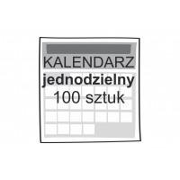 Kalendarz jednodzielny 100...