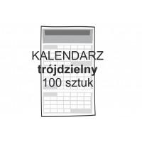 Kalendarz trójdzielny 100...