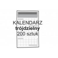 Kalendarz trójdzielny 200...